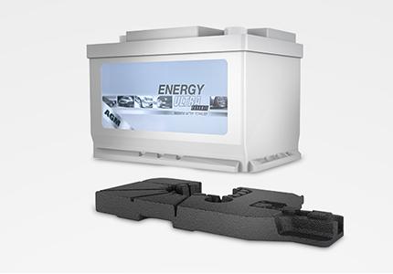 Verpackung Formteile Isolierungen Dämmung Automotive Automobil Batterie