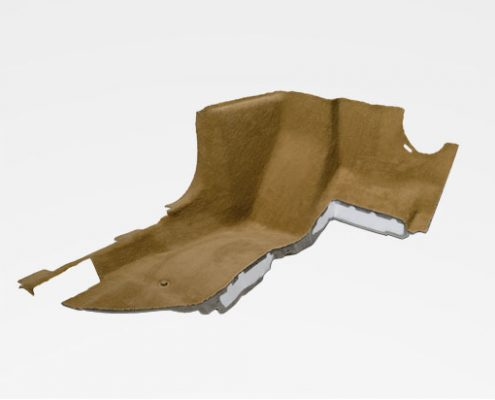 Moulded parts for absorber systems
