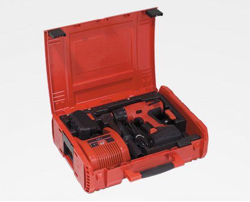Verpackung Koffereinlage Werkzeug Schutz