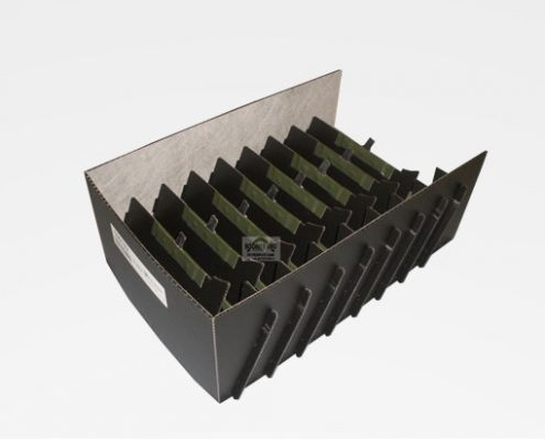 packaging insert small load carrier inlay