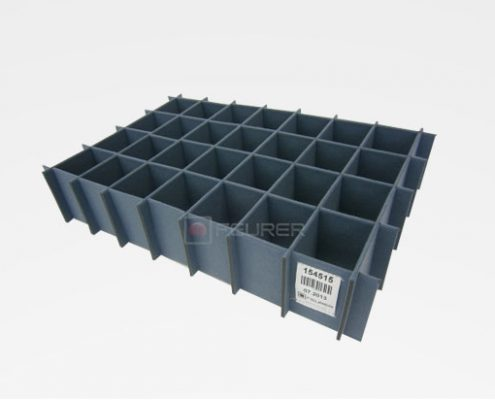 packaging insert small load carrier divider insert