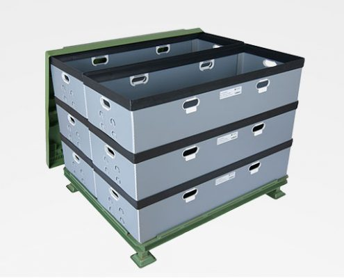 Packaging Load carriers stackable containers