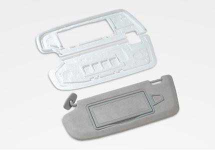 Verpackung Formteile Sonnenblendenkern