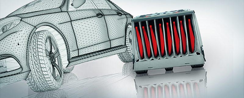 Verpackung Automotive Ladungsträger EPP