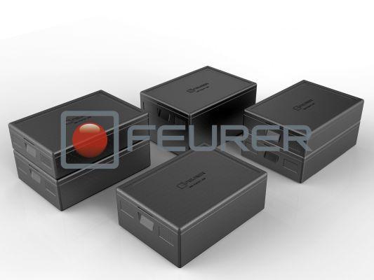feurer blackline thermoboxen f r lebensmittel f r kalt hei frisch tk. Black Bedroom Furniture Sets. Home Design Ideas