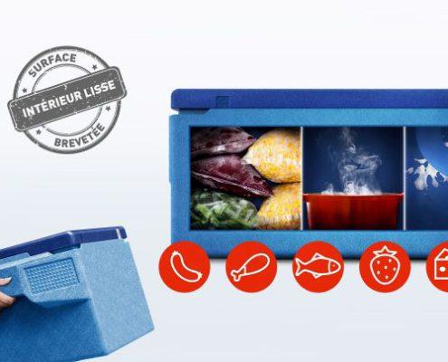 KÄNGABOX®FreshBlue Professional PR3217FB pour sécurité alimentaire