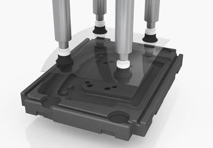 Spezialladungstraeger für automatisierte Fertigung
