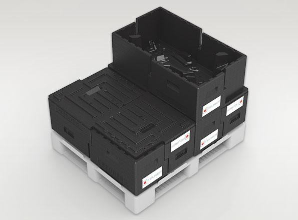 Mehrwegtransportverpackungen aus EPP-Rezyklat
